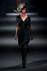 John Galliano Fall 2012 Black Knee High Socks - Lyst