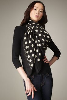 Marc By Marc Jacobs Dot-print Scarf - Lyst