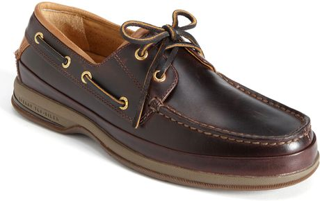 Sperry Top Sider Gold Cup 2 Eye Asv Boat Shoe In Brown