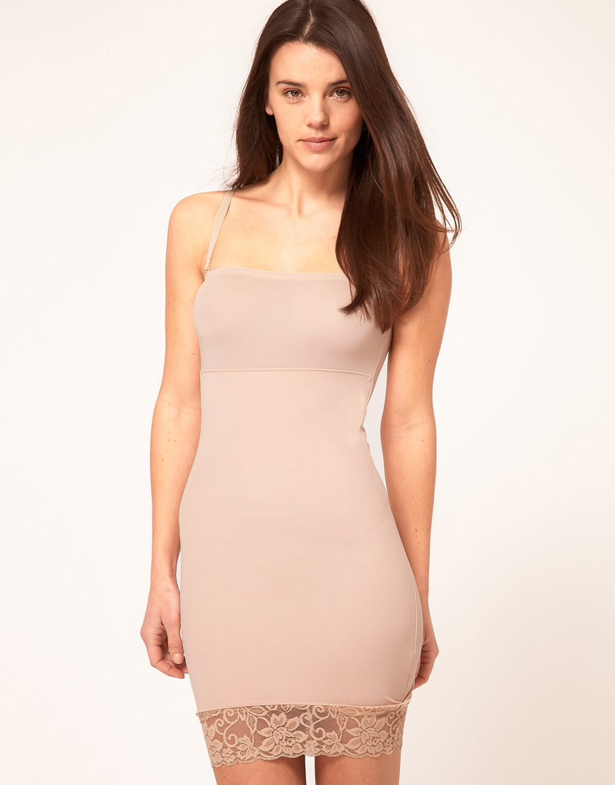 940e0f0779b82 Yummie By Heather Thomson Strapless Slip With Detatchable Straps in ...