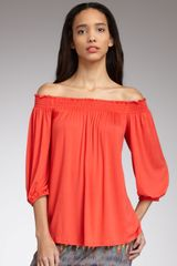 Ella Moss Smocked-top Tunic - Lyst