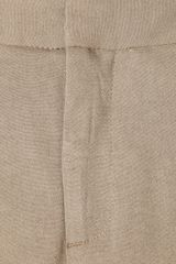 Helmut Lang Stretchcrepe Pants in Beige (brown) - Lyst