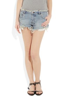 Ksubi Alberceque Cut-off Denim Shorts - Lyst