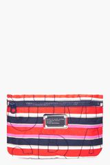 Marc By Marc Jacobs Striped Cosmetics Bag - Lyst