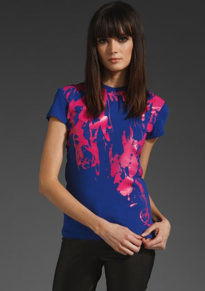 Mcq By Alexander Mcqueen Mcq By Alexander Mcqueen Boy T Shirt in Blue (electric blue) - Lyst