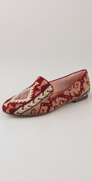Steven By Steve Madden Madee Fabric Flats in Red
