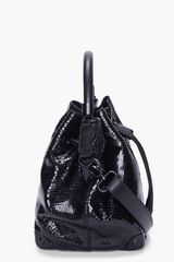 Viktor & Rolf Painted Python Bucket Bag - Lyst