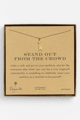 Dogeared Stand Out Giraffe Pendant Necklace - Lyst
