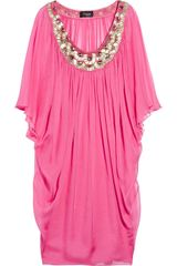 Temperley London Cerella Silk-chiffon Dress - Lyst