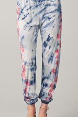 Textile Elizabeth And James Tie Dye Maui Pant - Lyst