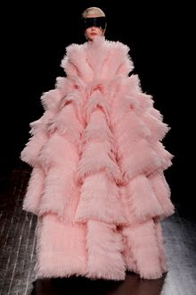 Alexander McQueen Fall 2012 Multi-Layered Feather Organza Ball Gown  - Lyst