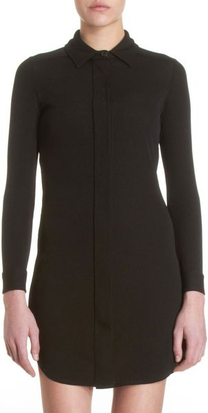 Barneys New York Wanda Dress in Black - Lyst