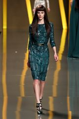 Elie Saab Fall 2012 Sequin Embellished Evening Dress - Lyst