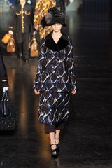 Louis Vuitton Fall 2012 Metallic Embroidered Geometric Print Midi Skirt in Black - Lyst