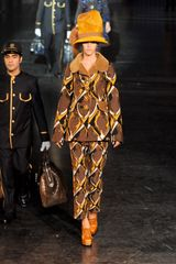 Louis Vuitton Fall 2012 Metallic Embroidered Geometric Print Pants - Lyst