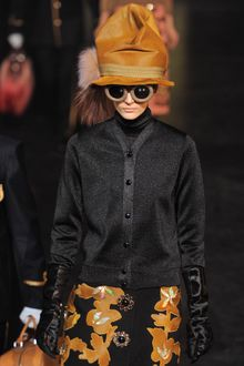 Louis Vuitton Fall 2012 Shimmer Reflective Cardigan  - Lyst