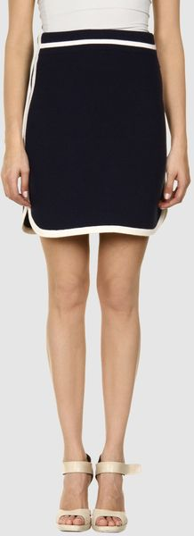 Marc Jacobs Marc Jacobs  Mini Skirts in Blue - Lyst