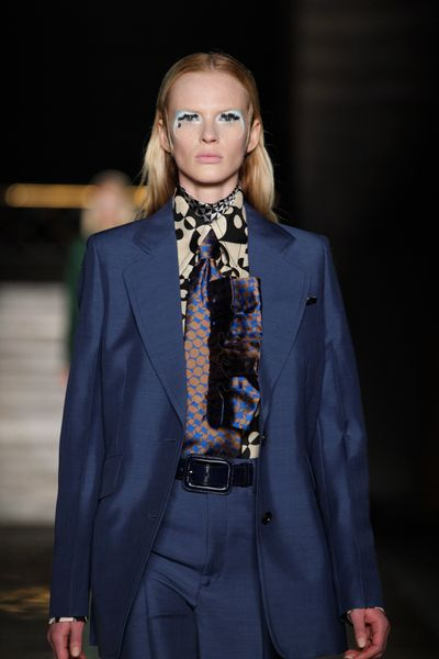 Miu Miu Fall 2012 Psychedelic Collared Shirt  in Multicolor - Lyst