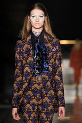 Miu Miu Fall 2012 Silk Collared Shirt - Lyst