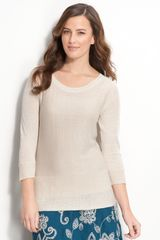 Nic + Zoe Easy Three Quarter Sleeve Sweater - Lyst