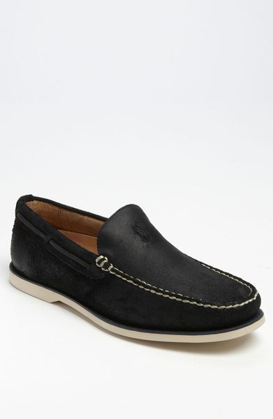 polo ralph blackley slip on in black for lyst