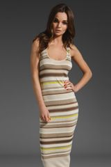 Velvet Casil Variegated Stripe Dress - Lyst