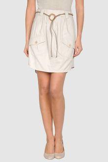 Brunello Cucinelli Knee Length Skirts - Lyst