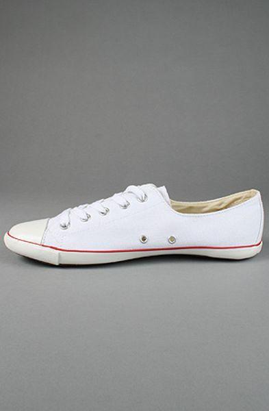 Converse The Chuck Taylor Core Light Lo Sneaker In White