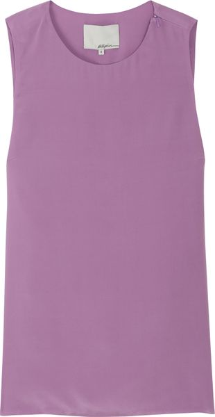 3.1 Phillip Lim Detachable Back Top in Purple - Lyst