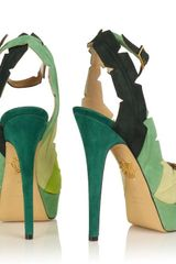 Charlotte Olympia Leaf Me Alone in Green - Lyst