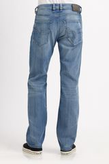 Diesel Larkee Straightleg Jeans in Blue for Men (denim) - Lyst
