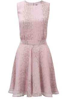 French Connection Pastel Python Dress - Lyst