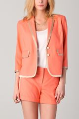 Robert Rodriguez Piped Jacket - Lyst