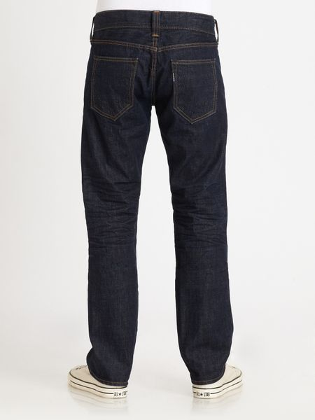 True Religion Blake Selvedge Phantom Jeans in Black for ...