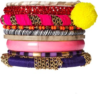Asos Eceletic Mixed Friendship Bracelet Pack - Lyst