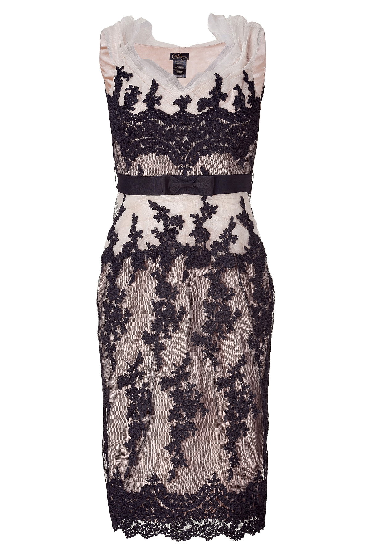 Collette dinnigan Off Shoulder Lace Dress in Black   Lyst