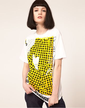Danielle Scutt T Shirt With Polka Dot - Lyst
