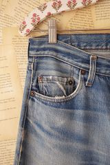 Free People Vintage 501 Levis in Blue (denim) - Lyst