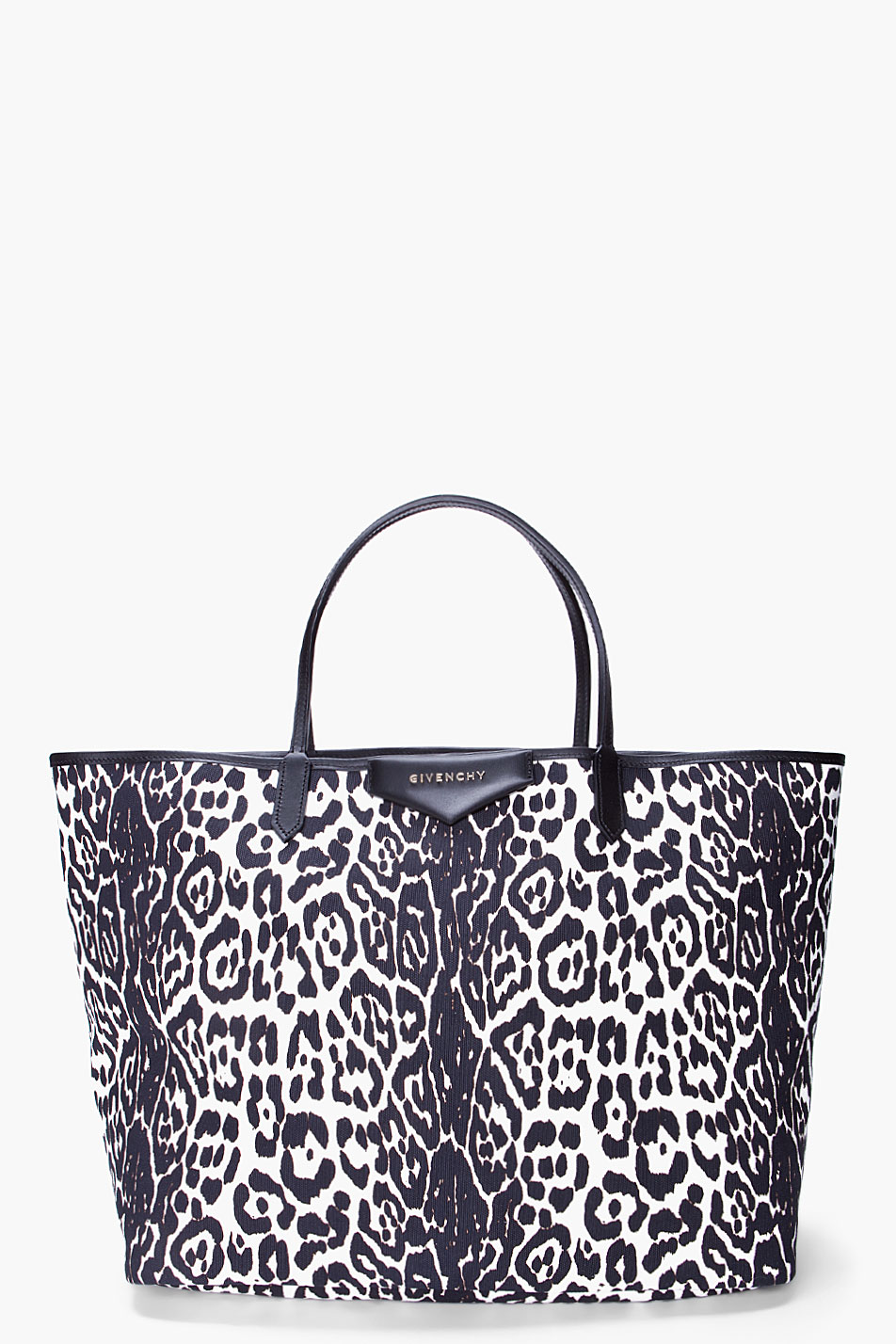 Lyst - Givenchy Leopard Print Tote b101f5a7bd