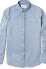 Maison Martin Margiela Washed-cotton Shirt - Lyst