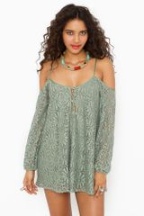 Nasty Gal Bowie Crochet Dress - Lyst