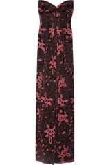 Temperley London Dancing Floral-print Silk-chiffon Gown - Lyst