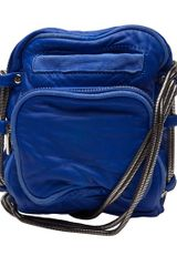 Alexander Wang Brenda Mini Camera Bag in Blue (azure) - Lyst