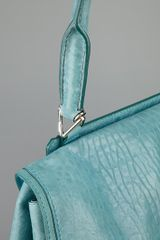 Givenchy Front Flap Handbag in Blue (teal) - Lyst