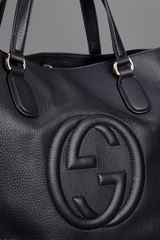 Gucci Soho Tote Bag in Black - Lyst