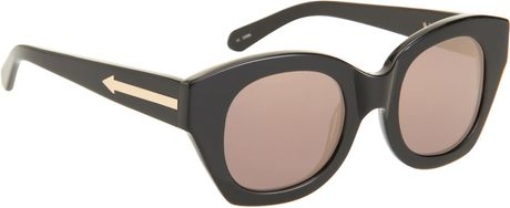 Karen Walker Soul Club in Black (gold) - Lyst