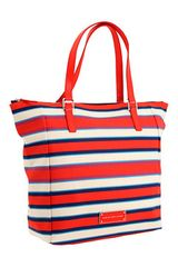 Marc By Marc Jacobs Take Me Rubber Croc Jacobsen Stripe Tote - Lyst