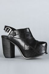 Miista The Brenda Shoe in Black Print in Black - Lyst