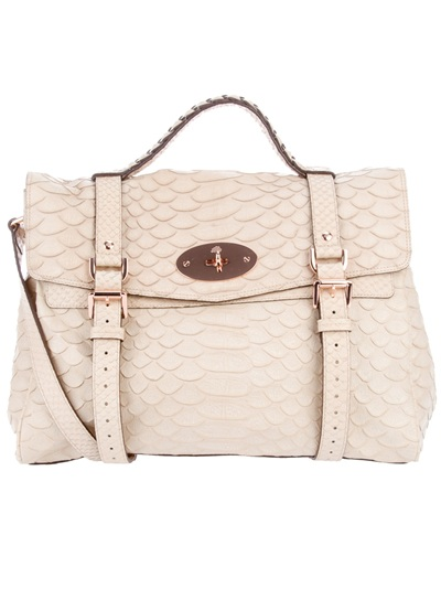 a58a80cdcd Mulberry Alexa Bag in Natural - Lyst