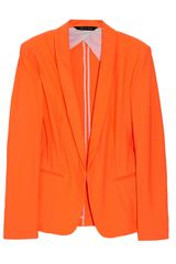 Rag & Bone Sliver Tuxedo Scuba Sateen Blazer in Orange - Lyst